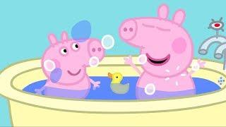 Peppa Pig English Episodes | Peppa Pig's Bath Time #189