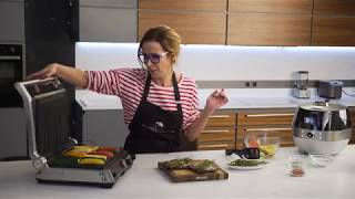 Рецепт стейка с овощами и луковым мармеладом от Ники Белоцерковской