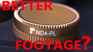 Polarizer Filters and your Drone - Do they improve your footage?