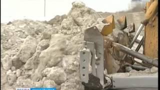Уборка снега в Челябинске