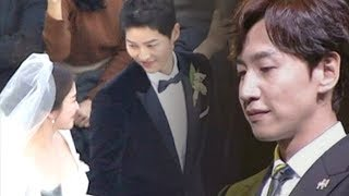 Heartwarming Letter From Lee Kwang Soo to Song Joong Ki his Wedding Ceremony