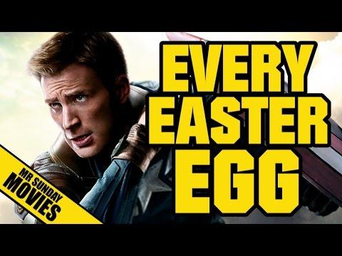Easter Eggy v Návratu prvního Avengera