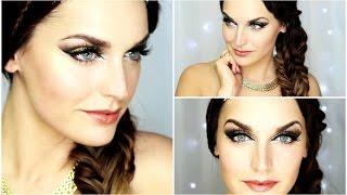 Roman Greek Goddess Hair Makeup
