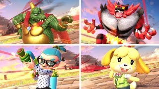 Super Smash Bros Ultimate: All Victory Poses