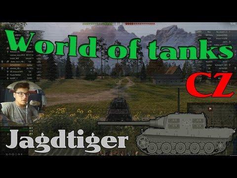World of tanks CZ - Jagdtiger | FULL HD/50FPS