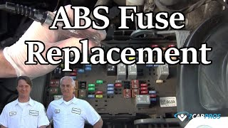 ABS Fuse Replacement All Cars
