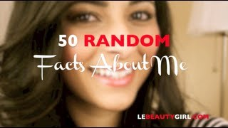 50 Random Facts About Me TAG | Ysis Lorenna