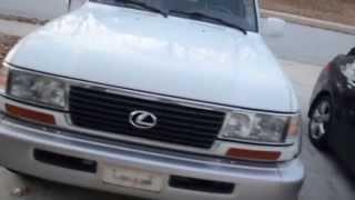 1997 Lexus LX 450 aka Toyota Land Cruiser FJ-80