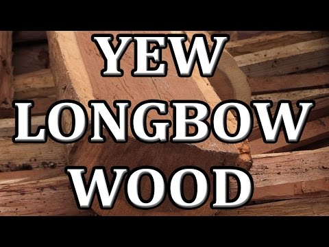 Making a Yew Selfbow: Start to Finish - Swiftwood Bows