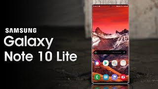 Samsung Galaxy Note10 Lite - Here It Is!