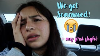 WE GOT SCAMMED! + First Flight | Cabo Day 1