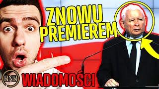 To Kaczyński zostanie PREMIEREM! KONIEC Morawieckiego | WIADOMOŚCI
