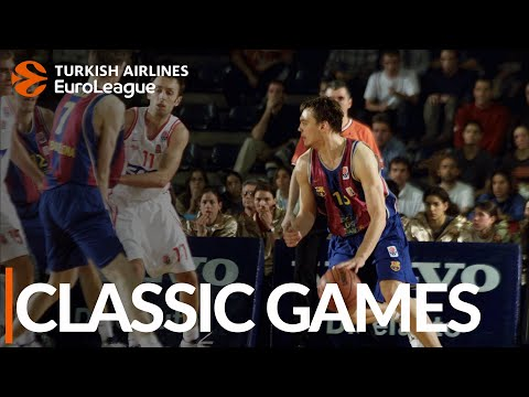 CLASSIC GAMES: FC Barcelona vs. Olympiacos, 2003