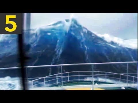 5 HUGE Waves You Wouldn't Believe if It Wasn't On Video