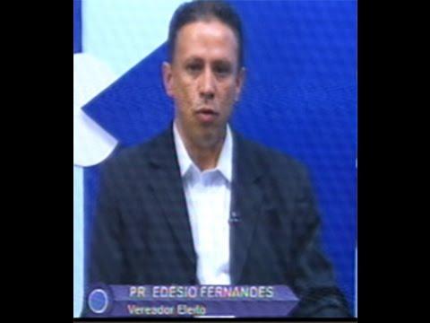 Vereador eleito, Pastor Edésio Fernandes no SIC TV - Gente de Opinião