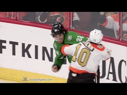 Brayden Schenn vs. Stephen Johns