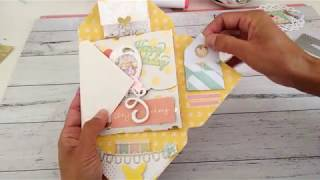 GIFT CARD HOLDER With ENVELOPE STYLE FLIPBOOK