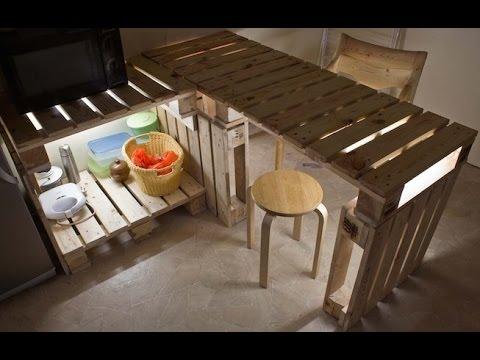 101 pavyzdys kaip panaudoti medines paletes. 101 Creative Pallet DIY Ideas