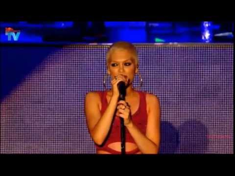 Jessie J - Square one (New Song) Live at the Eden Project 2013