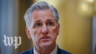 WATCH: McCarthy holds weekly news conference