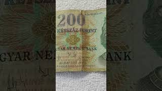 392. BANK NOTE 200 FORINT 2003 - NRS. - FB9855264 - BUDAPEST - NORTHERN SUNDAY - HUNGARY REPUBLIC