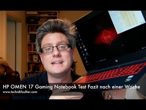 HP OMEN 17 Gaming Notebook Test Fazit nach einer Woche
