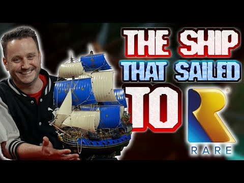 THE SHIP THAT SAILED TO RARE // SEA OF THIEVES - The Man 'O War of love!
