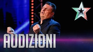 I Mille Volti Di Claudio Lauretta | Italia's Got Talent 2015
