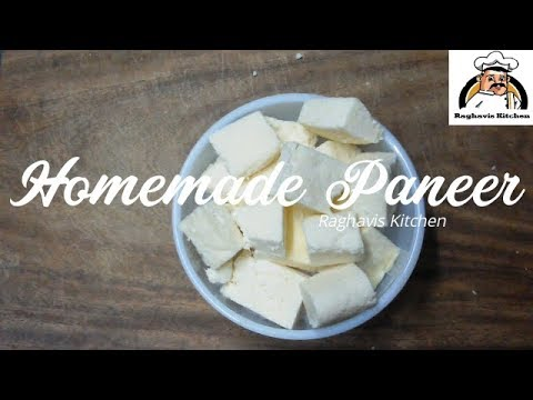 How To Make Paneer At Home || Homemade Paneer