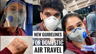 Travelling to Mumbai during Lockdown | Domestic Flights in India During Lockdown | Airport New rules