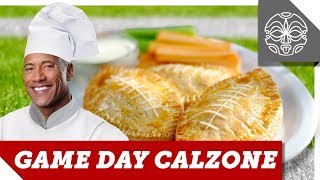 What The Rock is Cooking: The Ultimate Football Calzones