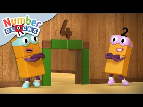 Numberblocks - The Terrible Twos! | Learn to Count