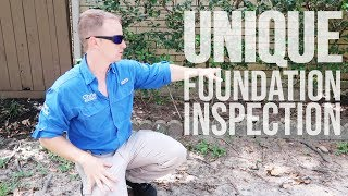 Unique Foundation Inspection