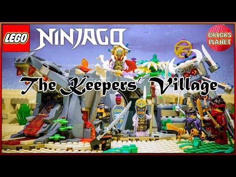 Vidéo LEGO Ninjago 71747 : Le village des Gardiens