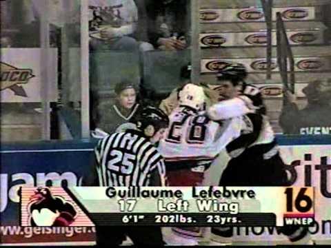 Guillaume Lefebvre vs. Lawrence Nycholat