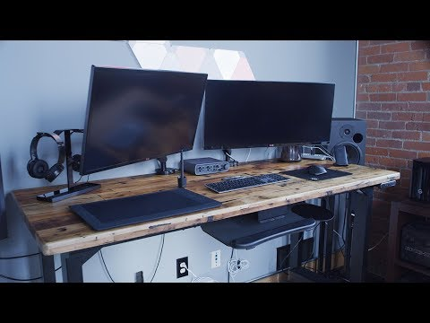 The Best Adjustable Standing Desk We Could Find Online - Our Review of the UPLIFT Desk