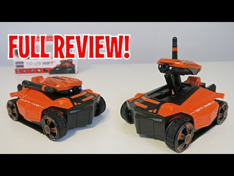 UNBOXING & LETS PLAY -ATTOP YD-211 SPY ROBOT TANK – FULL REVIEW by RCMOMENT
