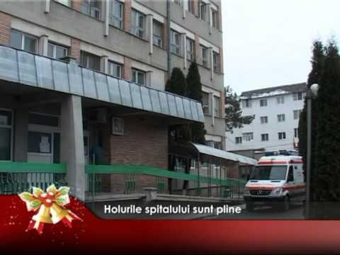 Holurile spitalului sunt pline