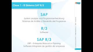 Curso INTRODUCCION A SAP R/3 - Clase 1