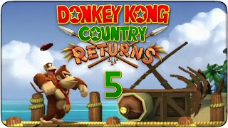 preview picture of video 'Donkey Kong Country Returns #05 - Ruinas'