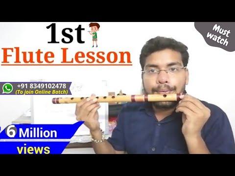 #01 घर बैठे सीखें बाँसुरी बजाना | How To Play Flute | Whatsapp : 8349102478
