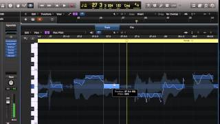 Flex Pitch in Logic Pro X