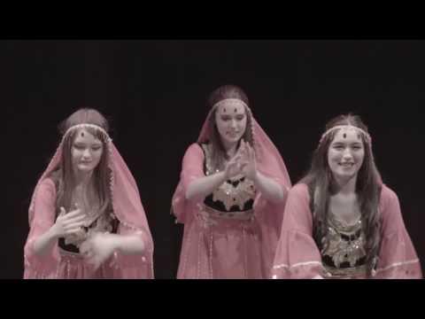 Xinjiang ples, proslava kineske Nove godine 2017.