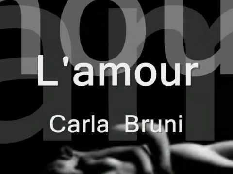 L'Amour - Carla Bruni