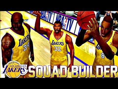 ESPN BASKETBALL 2K4 LAKERS SQUAD BUILDER! 🏀 LAKERS vs. CELTICS   ESPN Basketball 2K4 (PS2 HD)
