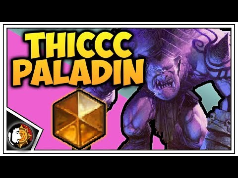 Hearthstone: THICCC Paladin - Rise Of Shadows