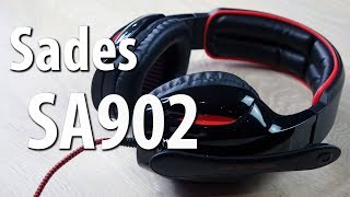 Sades SA902 Gaming-Headset - Günstiges Einsteiger-USB-Headset im Test [Review|Deutsch]