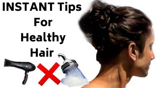 5 INSTANT Healthy Hair Tips for Men | Hindi Hair Care Tips