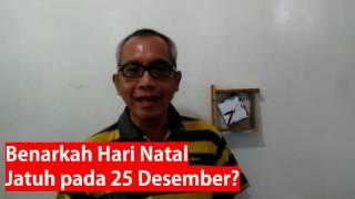 Mengapa Orang Kristen Merayakan Natal Benarkah Natal Jatuh Pada 25 Desember