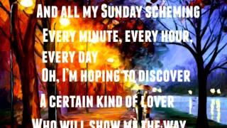 A Sunday kind of love Etta James Lyrics